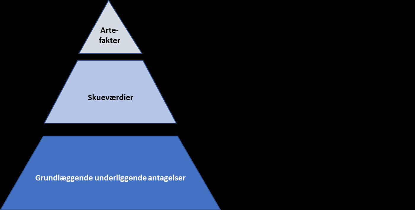 Scheins tre kulturniveauer - En ubalance her kan skabe en syg kultur