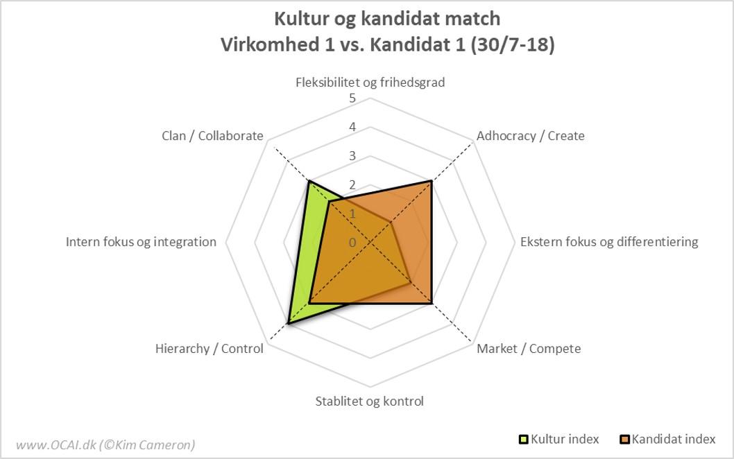 kultur og kandidat match